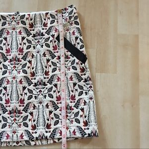 Topshop Skirts - Topshop Tall tapestry miniskirt w/ pockets Size 4